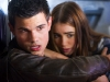 Taylor Lautner e Lily Collins in Abduction