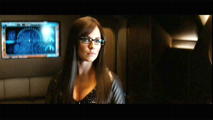 Sienna Miller as the Baroness in G.I. Joe