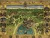 Mappa di Hogwarts su stoffa