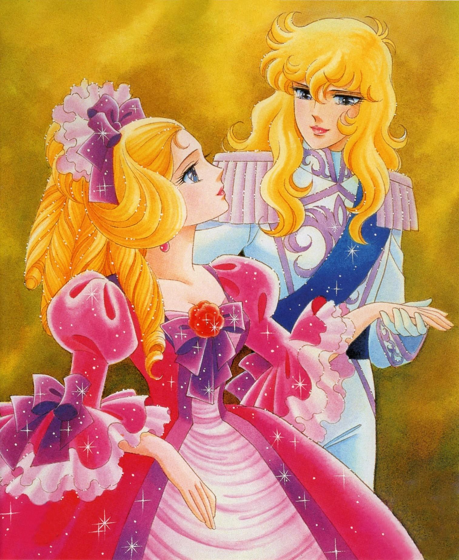 Innamorati dei cartoni animati lady oscar