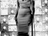 Miriam Makeba posing for a Drum Cover in a downtowwn Johannesburg recording studio in 1955