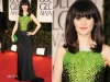 Zooey Deschanel ai Golden Globes