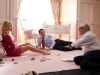 Scorsese, Di Caprio e Margot Robbie sul set